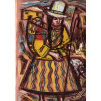 Nº 191 - Coya Con Niño - Serigrafía De Araujo Castellano