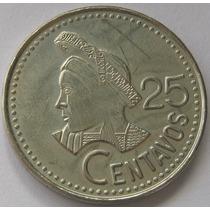 Guatemala 25 Centavos 1987 Sin Circular