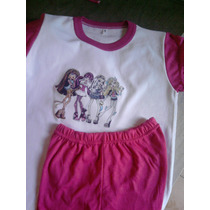 Pijamas Niñas - Princesas- Invierno - T 8-10-12