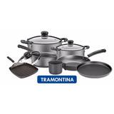Set Bateria Juego De Cocina Tramontina Teflon 7 Unidades.