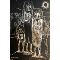 Nº 79 - Indios Chaqueños - Xilografía De Martínez Reádigos