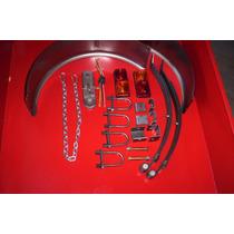 Eje Y Kit Completo Con Elastico De 400 Kg P/trailer-batan