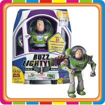 Muñeco Toy Story Buzz Lightyear Interactivo - Mundo Manias