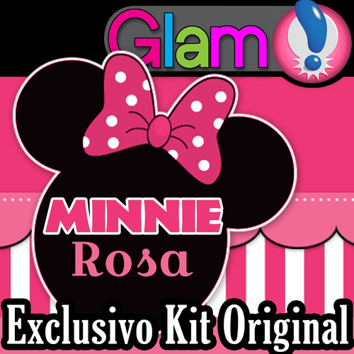 kit imprimible minnie rosa candy bar cotillon super glam 14896 car interior design. Black Bedroom Furniture Sets. Home Design Ideas