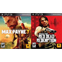 ## Red Dead Redemption Y Max Payne 3 ## Combo Ps3 ## Oferta!