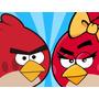 Kit Imprimible Angry Birds Tarjetas Invitaciones + Candy Bar