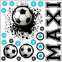 Kit De Vinilo Autoadhesivo Futbol Mundial Personalizado!
