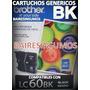 Cartuchos Brother Lc 60 Lc60bk 60 Negros