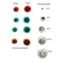 Ojos Acrilicos Para Muñecos X 50 U
