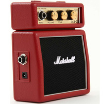 Mini Amplificador Marshall Ms-2r Para Guitarra