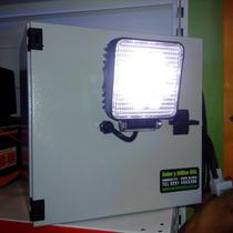 Luminaria Led 100% Solar Con Panel Batería Fotocelula Luz