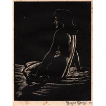 Nº 218 - La Modelo -xilografía De Sergio Sergi