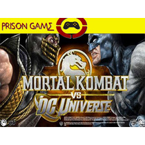 Mortal Kombat Vs Dc Universe | Ps3 | Entrega Inmediata