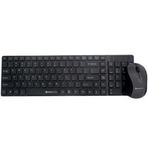 Kit Teclado Y Mouse Eurocase Coral Usb Cable Retractil