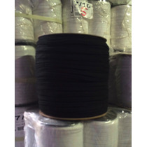 Cordones De Algodón De 10mm Negro, Pack De 600 Metros