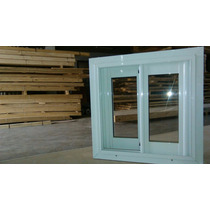 Ventiluz Aluminio Blanca (vidrio Entero) 40x40 Oferta!
