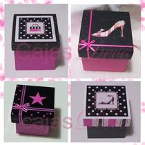 Souvenir Caja Cumple-quince-boda-otras Ocasiones-6x6x6