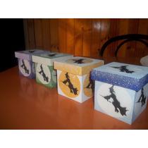 Cajitas Artesanales Para Souvenirs Casamientos,cumpleaño,etc