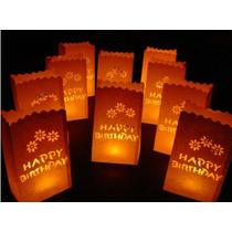 Bolsas Papel/velas Led/shower/comu/bodas/15/aniversario