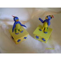 Souvenirs Cajitas Con Personajes En Porcelana Fria