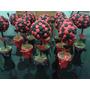 Topiarios-arbolitos,centros De Mesa, Souvenirs 18 Cms