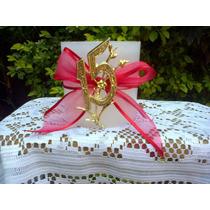 Fanal Redondo De 10 X 10, Con Decoracion