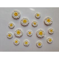 Dijes Margaritas -flores -flores Rococò-cumpleaños