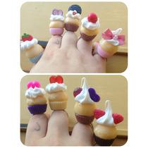 Anillos (x 20) Con Cintas Para Tus 15- Cupcakes, Donas