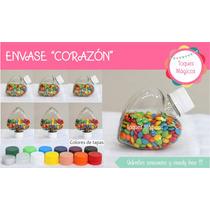 Envases Corazón Souvenir Candy Bar Unidad