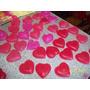 Corazones De Glicerina O Rosas Rococó X 25u Cumpleaños/bodas