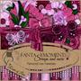 Kit Imprimible Love & Roses Scrap+ Elementos + Papeles
