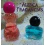 Souvenirs Frasco De Vidrio Con Perfume Símil Importados