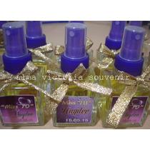 Souvenir 15 Años Perfumes Personalizados X 10 Unidades