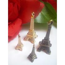 Dije Principal Corona Llave Torre Eiffel Arbol Grandes Manos