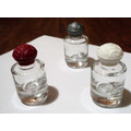 10 Envases, Frasco De Vidrio, 20cc, Perfume Fino, Souvenirs