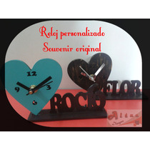 Reloj Con Nombre Personalizado Souvenir Regalo Original !!!!
