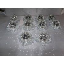 15 Velas Esferas Espejadas- Ceremonia De Velas 15 Años