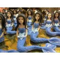 Souvenirs Sirenas Para 15 Años Pack X 25+central Regalo