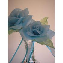 Rosas Artesanales De Velas