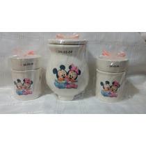 Souvenirs Hornitos Mickey, Minnie Personalizados!!