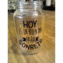 Frasco Vaso Personalizado! Frases, Imagen, Souvenir,!!