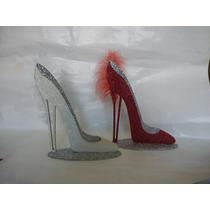 Zapato Central Centro De Mesa