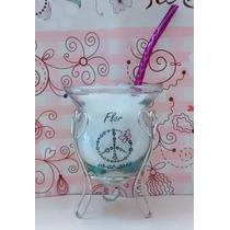 Souvenirs Mates De Vidrio 15 Casamiento Personalizados Tazas