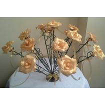 Fiesta De 15. Ceremonial Completo En Dorado . Rosas De Vela