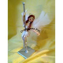 Souvenirs 10 Bailarinas De Caño En Porcelana Fria