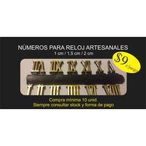 Números Para Reloj / Artesanía / Máquinas Reloj / Atriles