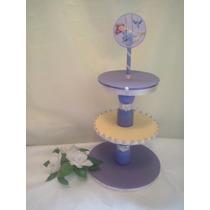 Porta Cupcakes Torre Princesa Sofia Tematico Mickey Minnie
