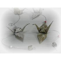 Grulla De Origami Souvenir / Deco Salon