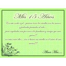 Tarjetas Invitacion 15 Años Vintage!!! Hermosas!!!