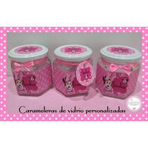 Souvenirs Frasco Caramelera, Bautismo, 15 Años, Nacimiento,